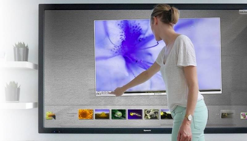 ecran tactile interactif